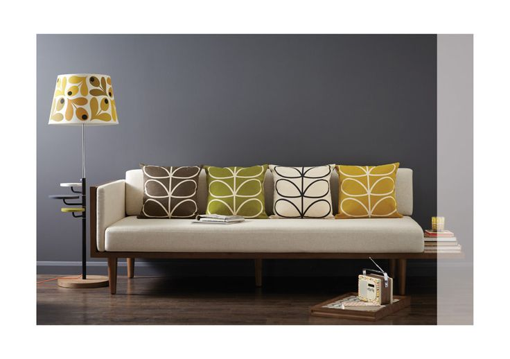 Orla Kiely | USA | Pre-AW12 looks  Must have sofa! Well, only if it's comfy enough to nap on and tough enough to stand up to pets!