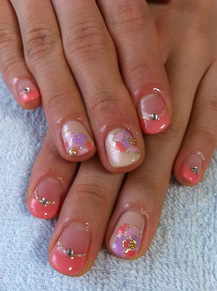 attractive cute gel nail designs