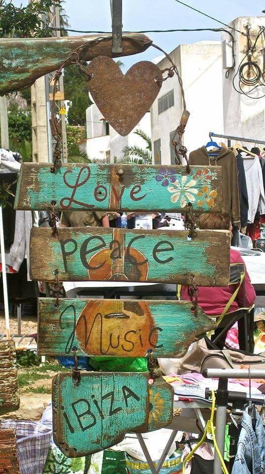 Love, peace, music, IBIZA!!