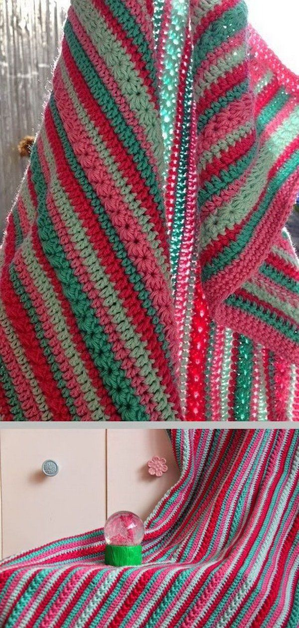 Simple Crochet Blanket.