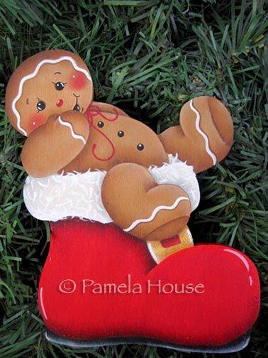 Santa's Boot Gingerbread