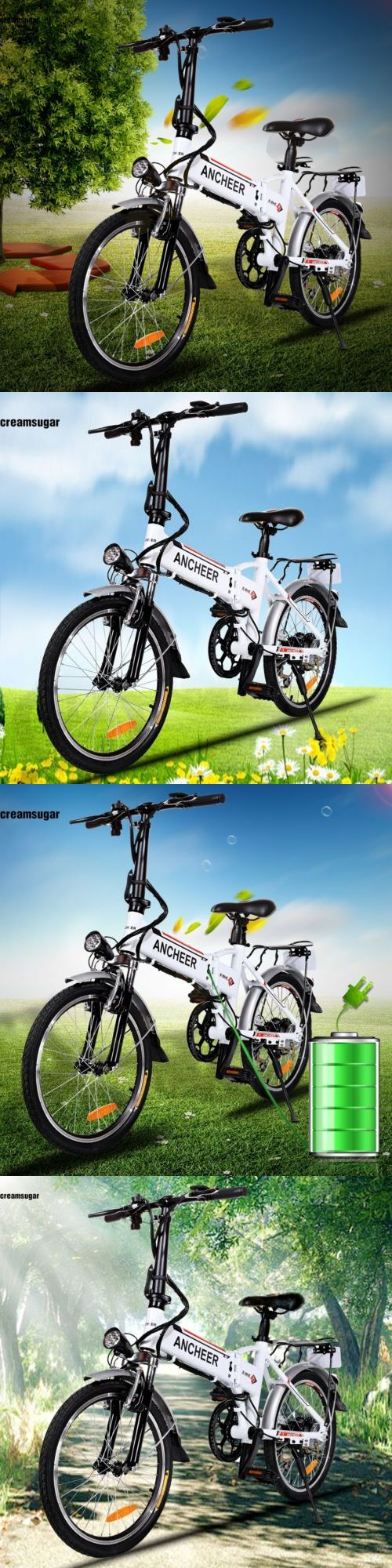 Electric Bicycles 74469: 18.7 Aluminum Alloy Frame Folding Mountain Bike Cycling Bicycle Popular# BUY IT NOW ONLY: $493.04