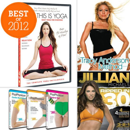 Best of 2012: The Fitness DVDs That Made Us Sweat: The past year brought a ton of new DVD releases that we loved working out with. When the weather wasn't so hot or we just weren't feeling the busy gym, each of these DVDs helped get our hearts pumping in our living rooms. Check out our favorites from the year that was.