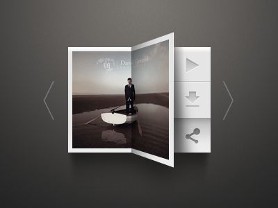 20 Gorgeous Music Players from Dribbble
