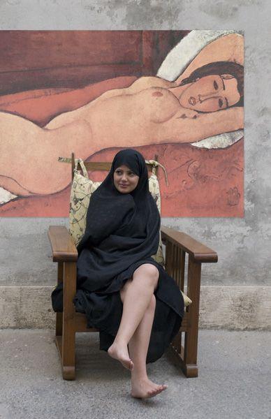shirazi art gallery.