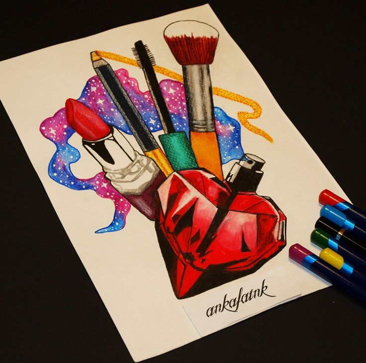 Makeup tattoo design by @ankafaink