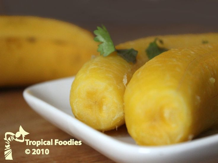 Boiled Plantains