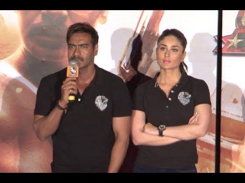 Ajay Devgan reacts on Shahrukh Khan's tweet | Singham Returns trailer launch.