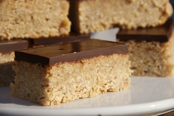 Flapjack Bars-these look nice,,,, made with condensed milk!