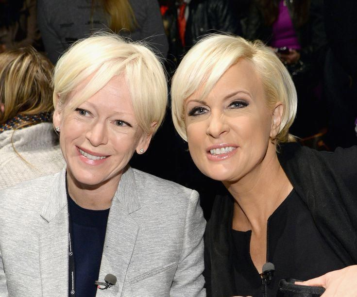 Gorgeous Hairstyles For Older Women From Age 60 To 70 Joanna Coles And Mika Brzezinski Shorthairedgy Womens Hairstyles Hair Styles Edgy Hair