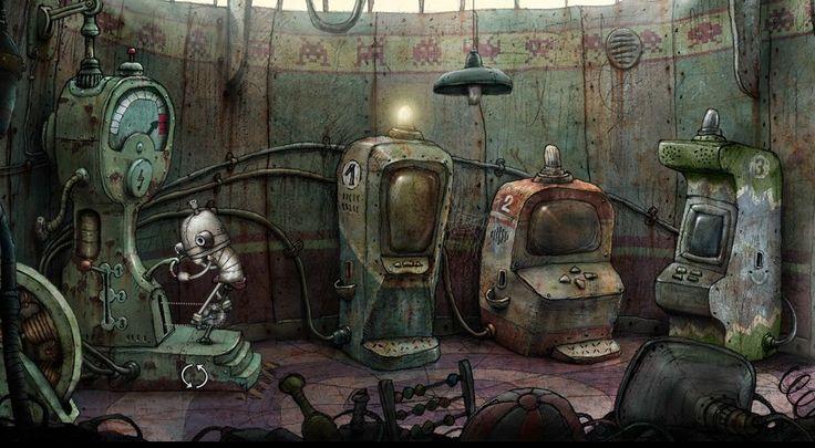 Znalezione obrazy dla zapytania machinarium