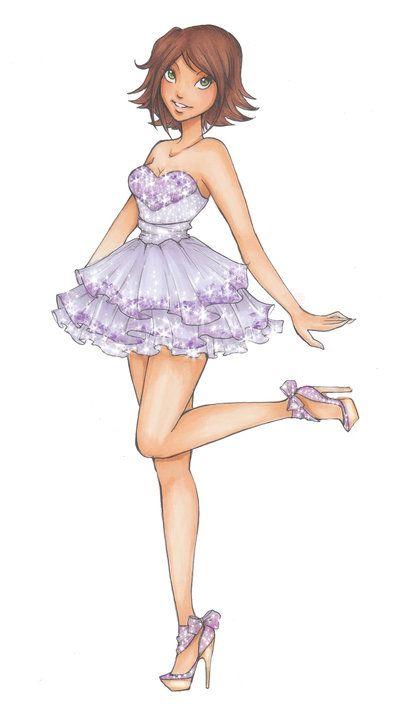 DH: Rapunzels prom dress by *Nina-D-Lux on deviantART