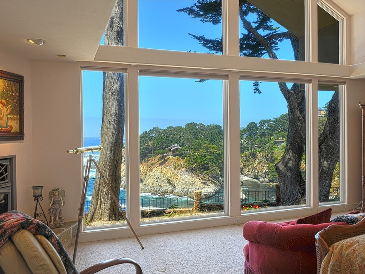 Carmel Highlands Vacation Rental - VRBO 339015 - 3 BR Central Coast House in CA, Ocean-Front Luxury Home Above Wildcat Cove - Private & Amazing