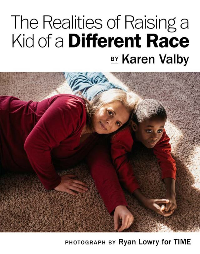 The Realities of Raising a Kid of a Different Race