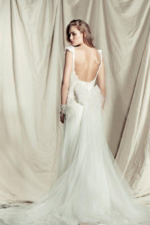 Pallas Couture, Princess Amorette Silk Size 10 Wedding Dress For Sale | Still White Australia
