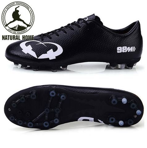 [NaturalHome] Brand Shoes Boots Soccer Cleats Botas de Futbol Men Kid Football Boot Professional Outdoor Soccer Shoes Size 35-44