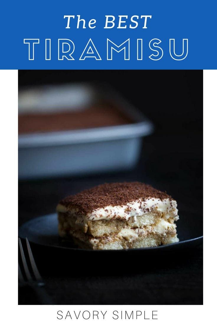Tiramisu Recipe Bloggers Fave Retro Recipes Desserts