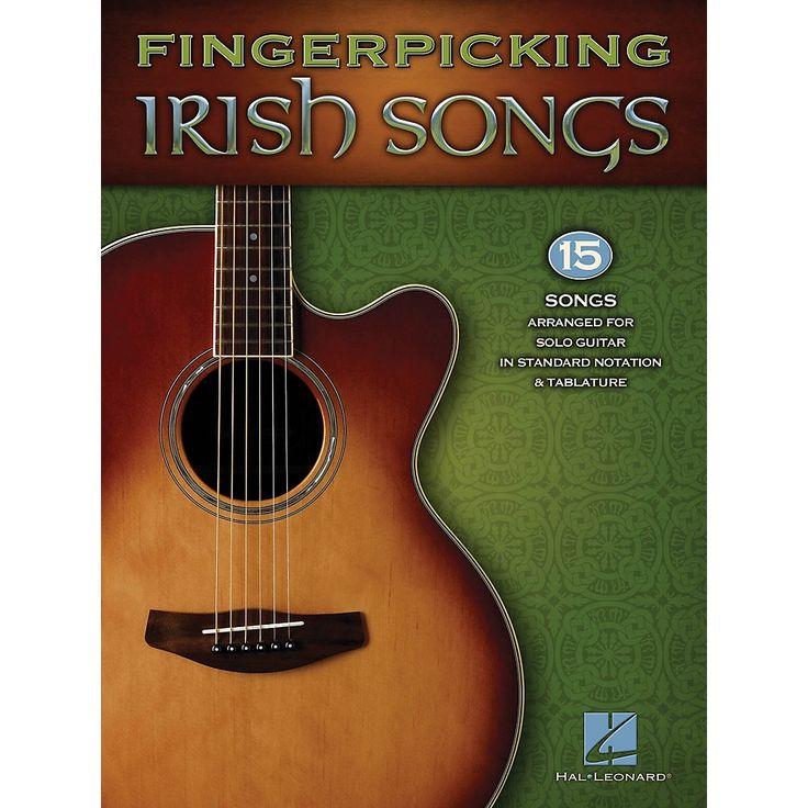 Hal Leonard Fingerpicking Irish Songs Guitar Solo Series Softcover