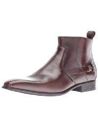 Stacy Adams Men's Montrose Plain Toe Side Zipper Chelsea Boot
