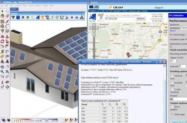 PVsyst güneş enerjisi simülasyon programı ile birçok çeşitte güneş enerjisi sistemi tasarlayabilirsiniz. Bu program ile ongrid (şebeke