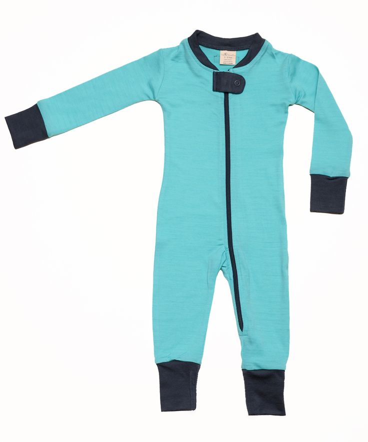 Wee Woollies Merino Sleeper. Designed and made in Canada. 3-6mos, 6-12mos, 12-18mos.
