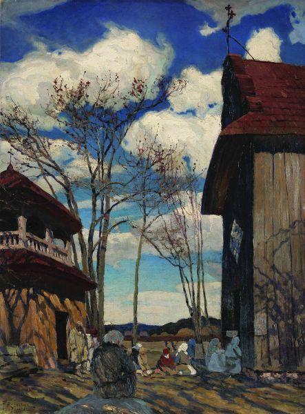 W kościele - Ferdynand Ruszczyc