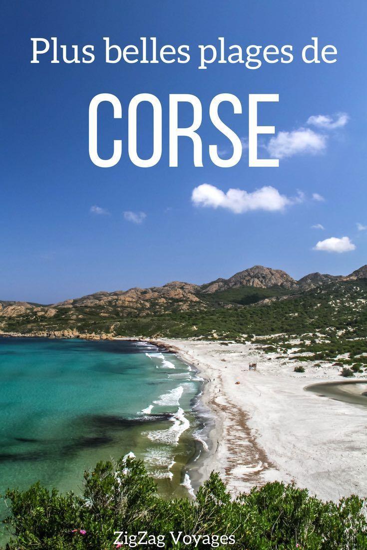 21 Des Plus Belles Plages De Corse Avec Photos Paysages Magnifiques Beau Paysage Belle Plage
