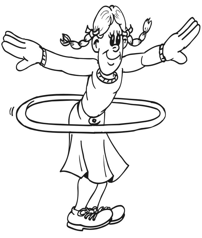 physical activity printable coloring pages