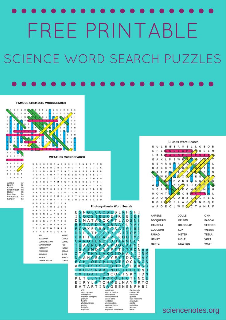 Magic image with regard to science crossword puzzle printable