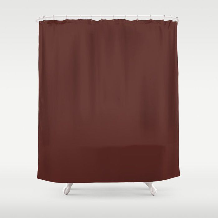 Colors Of Autumn Maple Leaf Deep Dark Red Solid Color Shower Curtain Red Shower Curtains Dark Shower Curtain Classic Showers