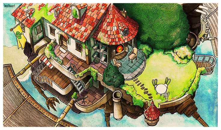 Look at that! They call this a castle? - Sophie by eamanee.deviantart.com on @DeviantArt