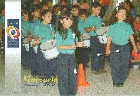 """Postal: Niños del Centro de Educacion Integral Simoncito """"Beatriz Ro (Venezuela) (Ipostel - IVIC) Col:ve_ipostel_IVIC_09"""