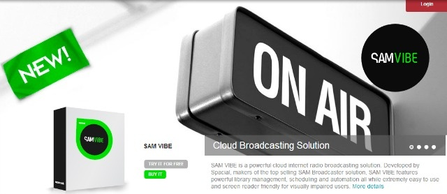 SAM VIBE – Your Own Internet Radio Station << very cool free service that's easy to use.