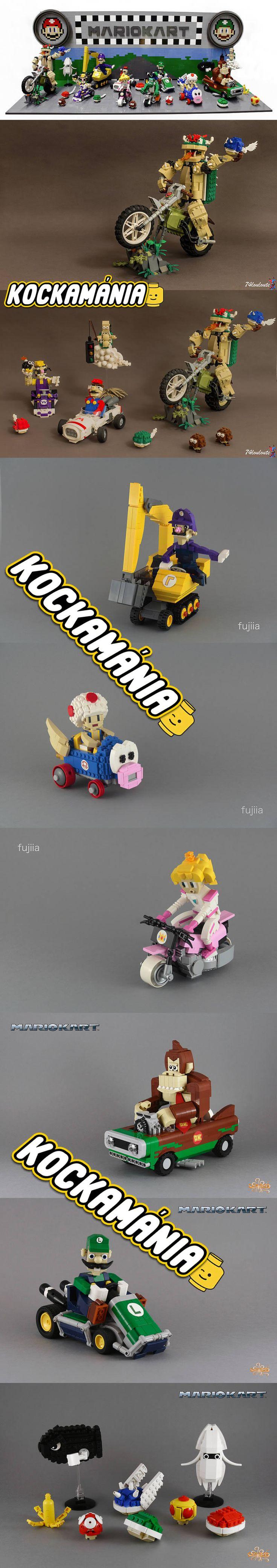 Mario Kart #LEGO #Mario #games #game #Luigi #DonkeyKong #Yoshi #arcade #Nintendo #gokart