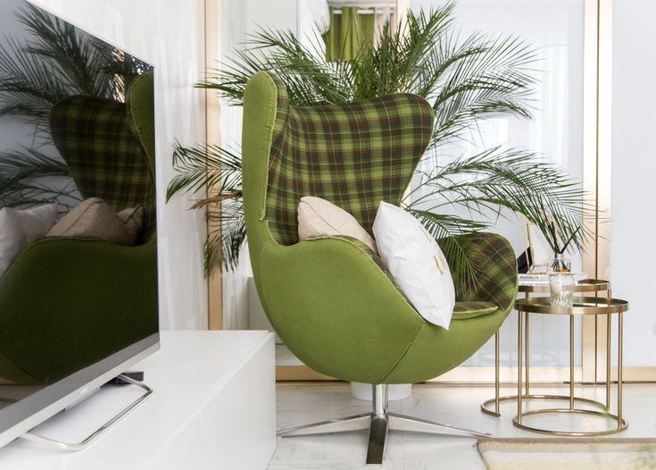 Оттенки зелени в интерьере двухкомнатной квартиры от Ивана Позднякова - Дизайн интерьеров   Идеи вашего дома   Lodgers