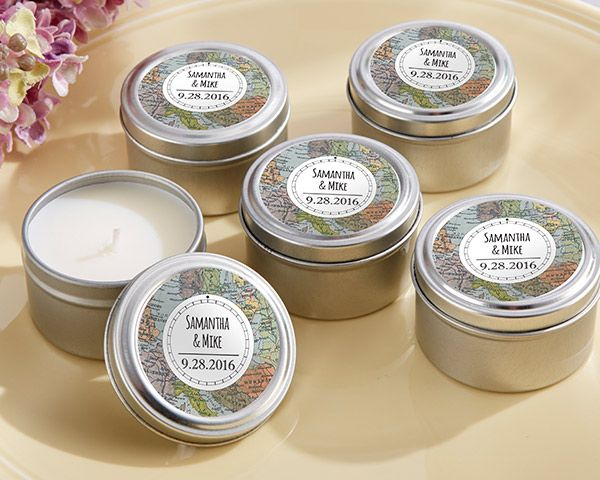 Personalized Travel Candle – Travel & Adventure