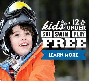 Kids Ski Free at Snowshoe Mountain West Virginia   Snowshoe Mountain Resort,  10 Snowshoe Drive,  Snowshoe, West Virginia 26209-0010 1.877.441.4386