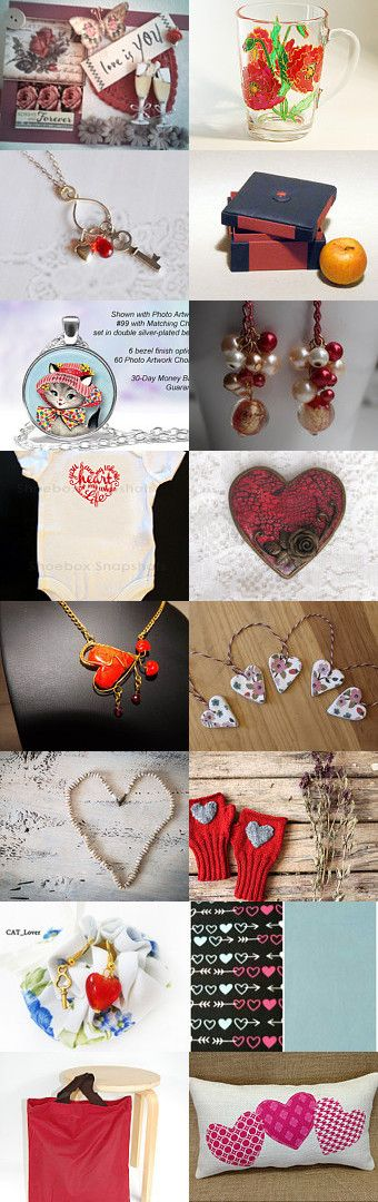Valentine Gifts by Meryem Rogan on Etsy--Pinned with TreasuryPin.com