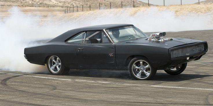 voiture de Dominic Toretto (Vin Diesel) dans Fast And Furious4 : Dodge Charger de 1970