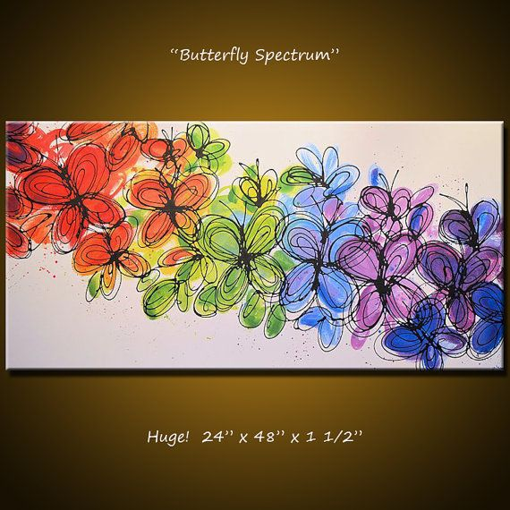 Amy Giacomelli Painting Wall Art Butterfly by AmyGiacomelli