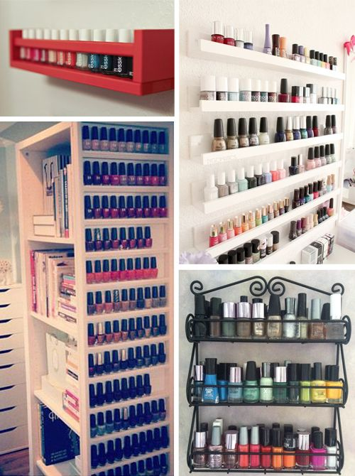 17 meilleures id es propos de tag res vernis ongles sur pinterest rangement pour vernis. Black Bedroom Furniture Sets. Home Design Ideas