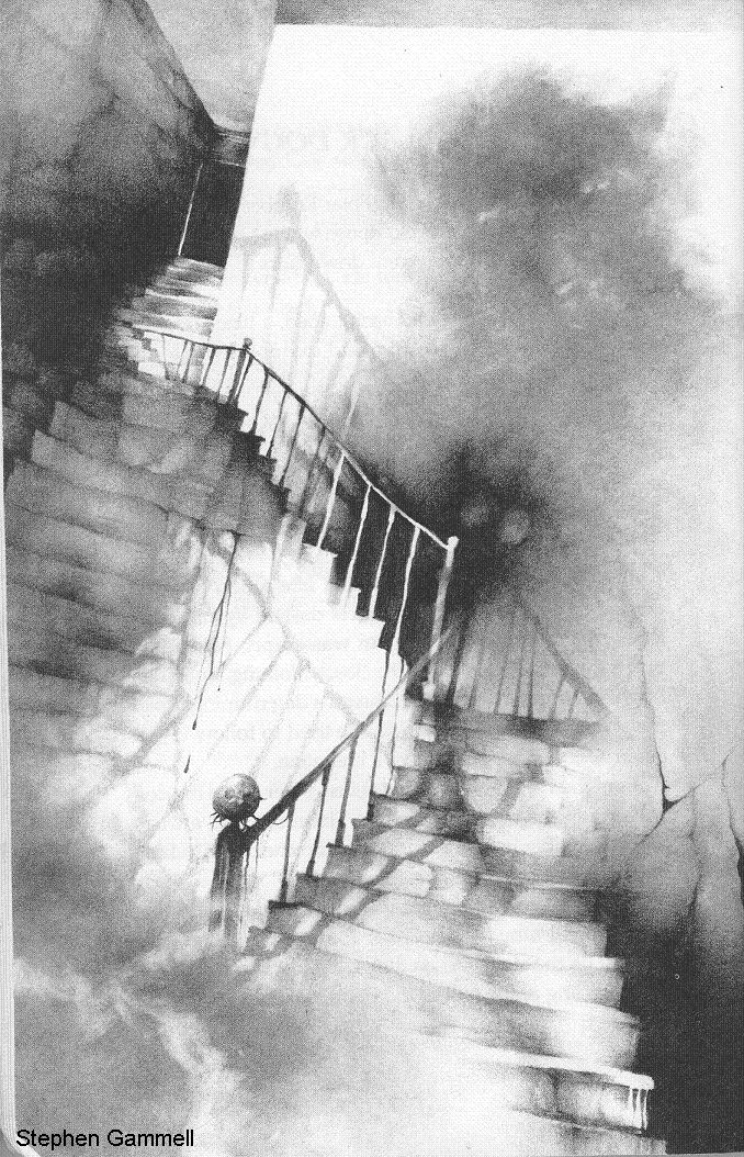 Scary Stories to Tell in the Dark illustrations by Stephen Gammell
