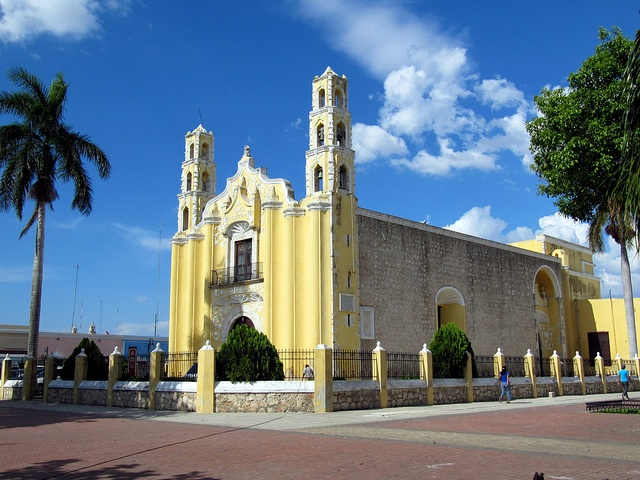 Temple of St. John the Baptist, Merida, Yucatan, Mexico by Bencito the Traveller, via Flickr