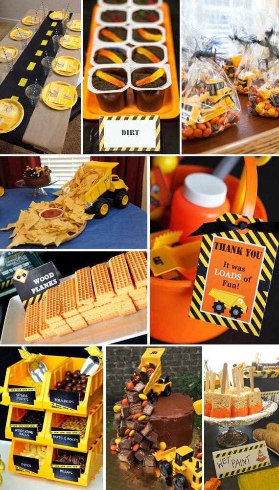 Construction Theme Construction Theme Birthday Party Construction Theme Party Toddler Birthday Party