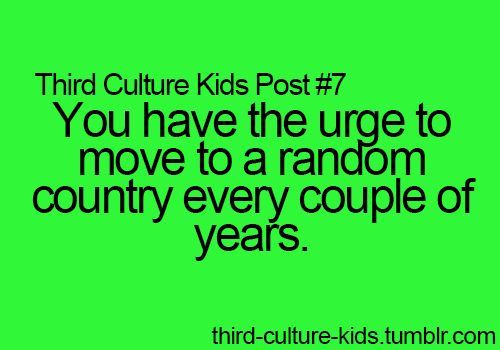 Third Culture Kids Posts
