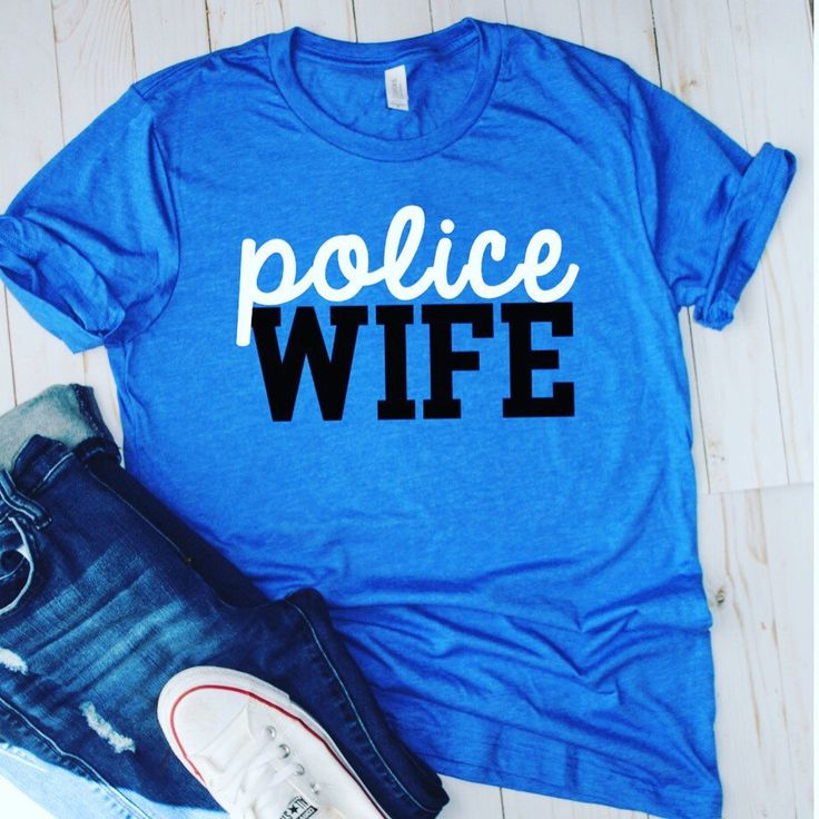Police wife-loud & proud! Click the Etsy icon to buy yours today!