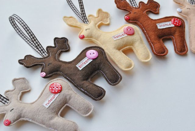 Sew Sweet: Christmas Ornament Exchange idea. Sew cute.