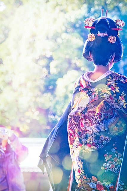 A beautiful Japanese bride. So gorgeous. #japan #tradition: