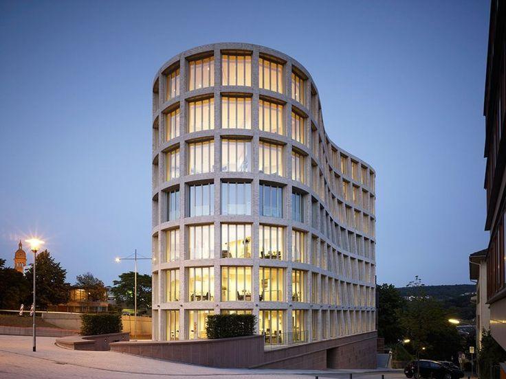 """""""Il Tronco"""" Office Building, Pforzheim, 2012 - architetto Michele De Lucchi"""
