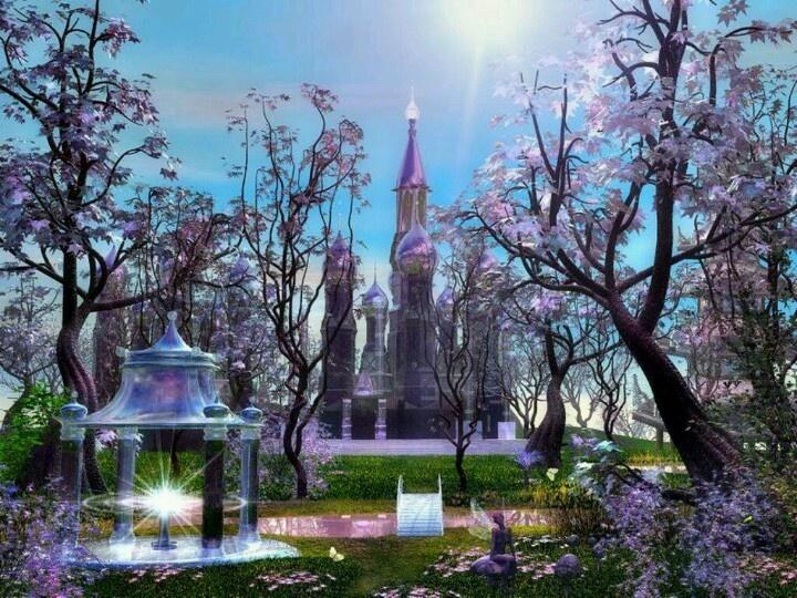 Z: Castle Option, Bee Pres, Dreamy Fairyland, Castles, Wallpapers